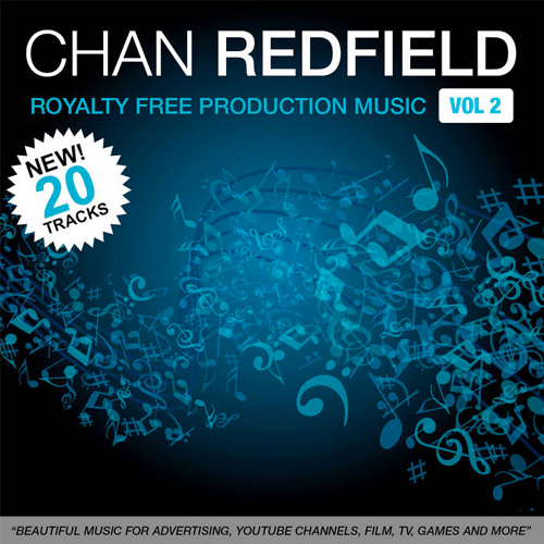 Cover - Chan Redfield's Royalty Free Music Vol 2